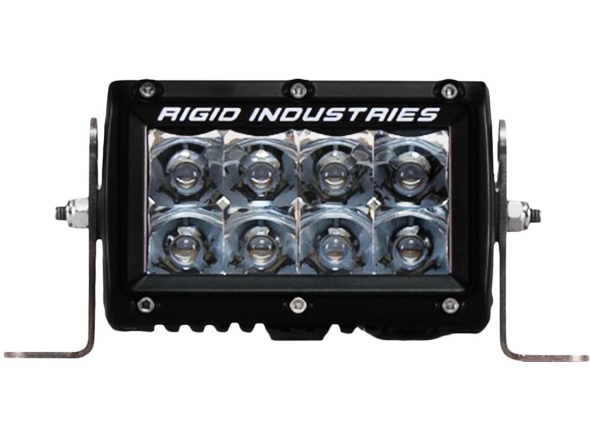 【US直輸入正規品】RIGID INDUSTRIESリジッドインダストリーEシリーズ4インチ LEDライト 1個(色:アンバー/オレンジ タイプ:スポット)