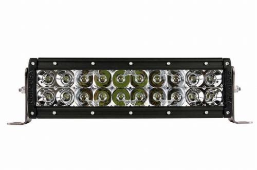 【US直輸入正規品】RIGID INDUSTRIESリジッドインダストリーオリジナル Eシリーズ 10インチカスタム LEDライトバー(色:ホワイト/タイプ:コンボ)※1個