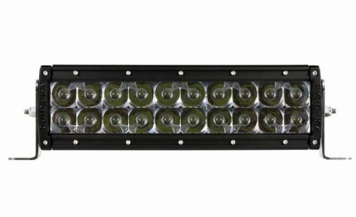 【US直輸入正規品】RIGID INDUSTRIESリジッドインダストリーオリジナルEシリーズ 10インチカスタム LEDライトバー(色:オレンジ/タイプ:コンボ)※1個