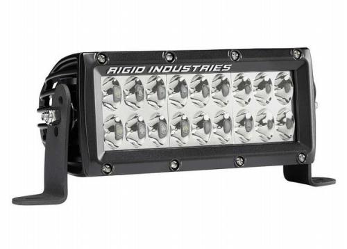 【US直輸入正規品】RIGID INDUSTRIESリジッドインダストリーEマーク E2シリーズ6インチドライビングLEDライトバー(色:ホワイト)※1個