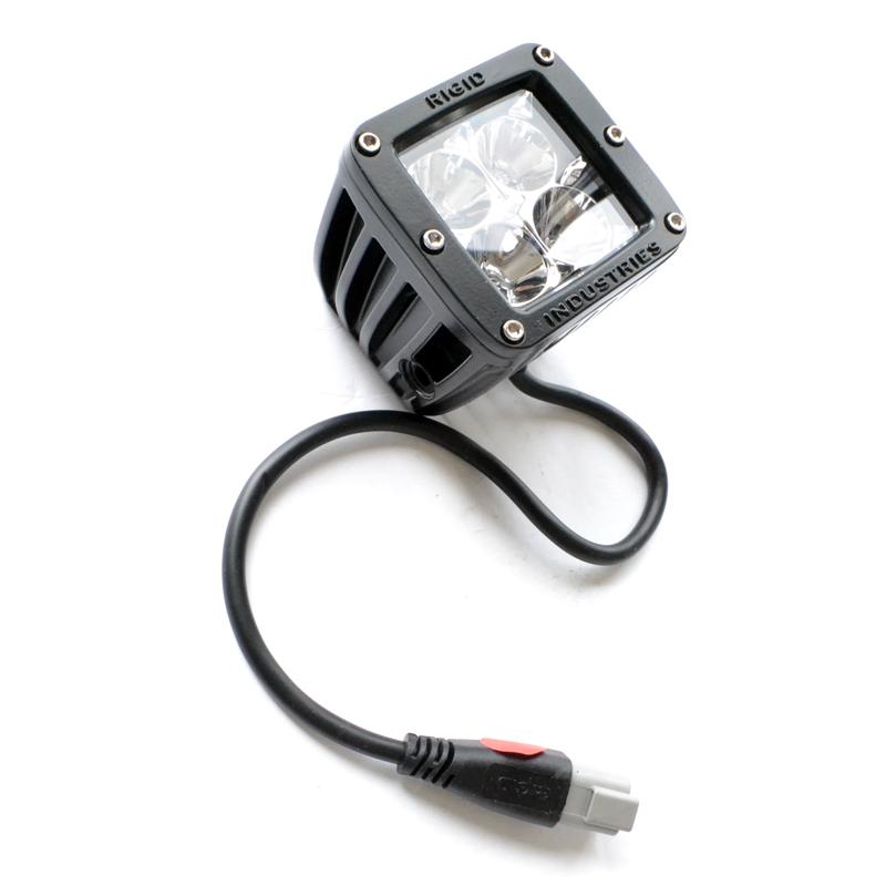 【US直輸入正規品】RIGID INDUSTRIESリジッドインダストリーDually (デュアリー)2×2 LEDライト(レッド)※シングル