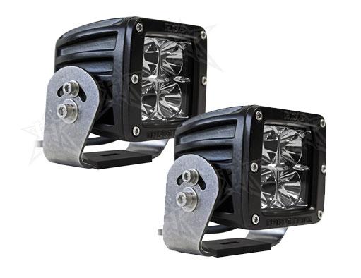 【US直輸入正規品】RIGID INDUSTRIESリジッドインダストリーDually (デュアリー)HD LEDライト (オレンジ)2個
