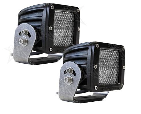 【US直輸入正規品】RIGID INDUSTRIESリジッドインダストリーDually (デュアリー)HD LEDライト (オレンジ)※ディフューズ 2個