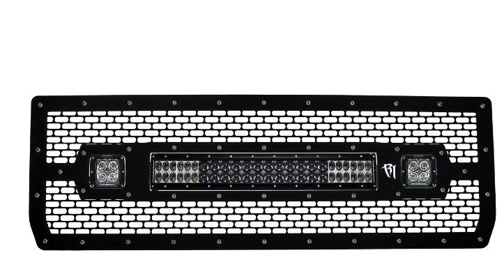 【US直輸入正規品】RIGID INDUSTRIESリジッドインダストリーGMC 15002014年LEDフロントグリルキット