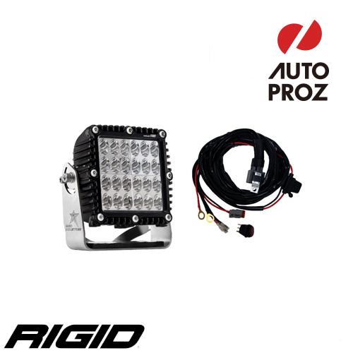 【USリジッドインタストリーズ 直輸入正規品】 RIGID INDUSTRIES Eマーク Qシリーズ ドライビングタイプ LEDライト