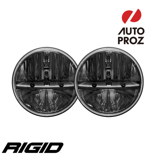【USリジッドインタストリーズ 直輸入正規品】 RIGID INDUSTRIES 7インチ丸形 LEDヘッドライト