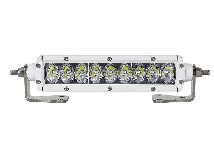 【US直輸入正規品】RIGID INDUSTRIESリジッドインダストリーマリン SR2シリーズ 6インチ LEDライト1個(色:ホワイト タイプ:ドライビング)