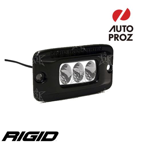 【US直輸入正規品】RIGID INDUSTRIESリジッドインダストリーSR-M2 フラッシュマウント LEDライト(色:オレンジ タイプ:ワイド)