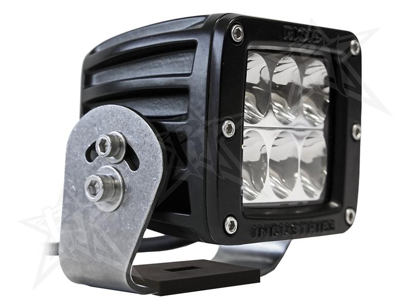 【US直輸入正規品】RIGID INDUSTRIESリジッドインダストリーD2 HD LEDライトブラックドライビングLEDカラー:オレンジ