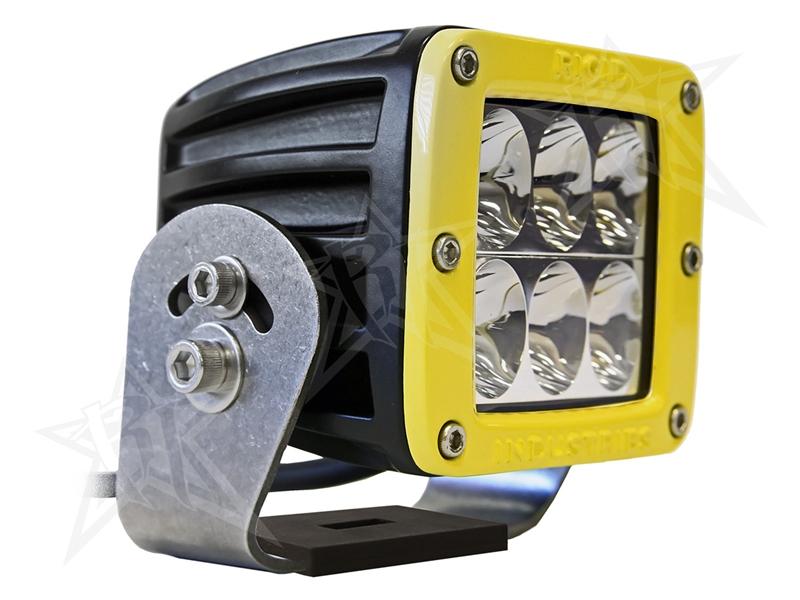 【US直輸入正規品】RIGID INDUSTRIESリジッドインダストリーD2 HD LEDライトイエロードライビングLEDカラー:ホワイト