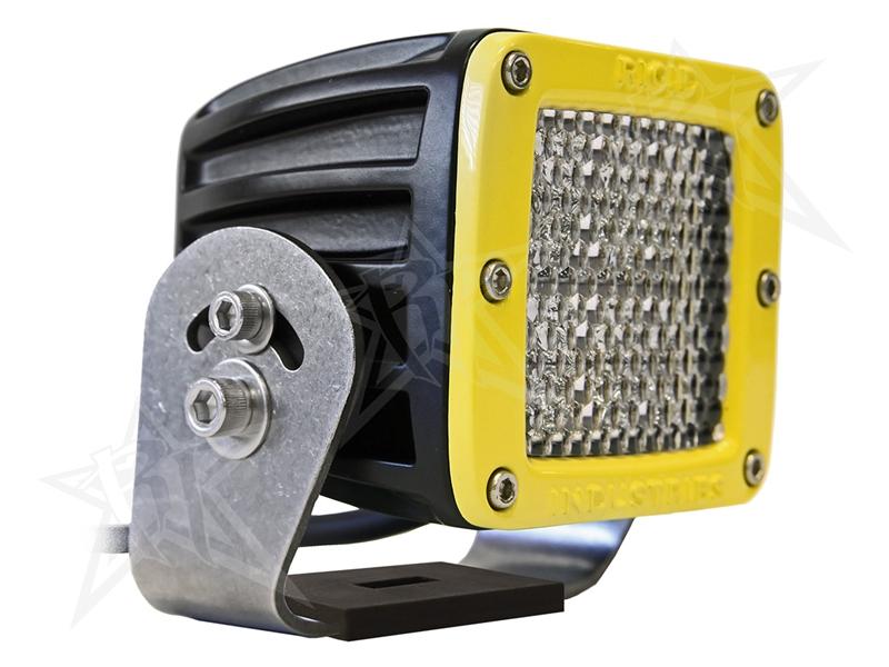 【US直輸入正規品】RIGID INDUSTRIESリジッドインダストリーD2 HD LEDライトイエローデフューズLEDカラー:オレンジ※2個セット