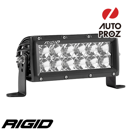 """[Rigid Industries 正規品] E-シリーズ PRO 6"""" LEDライト 発光パターン:フラッド"""