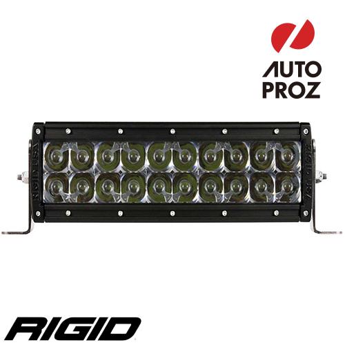 """[Rigid Industries 正規品] E-シリーズ 10"""" LEDライト OH/HP LEDカラー:オレンジ 発光パターン:スポット"""