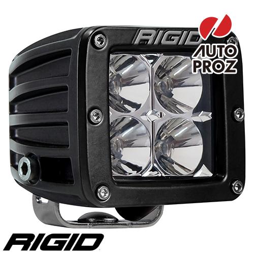[Rigid Industries 正規品] D-シリーズ PRO LEDライト 発光パターン:フラッド サーフェスマウントタイプ