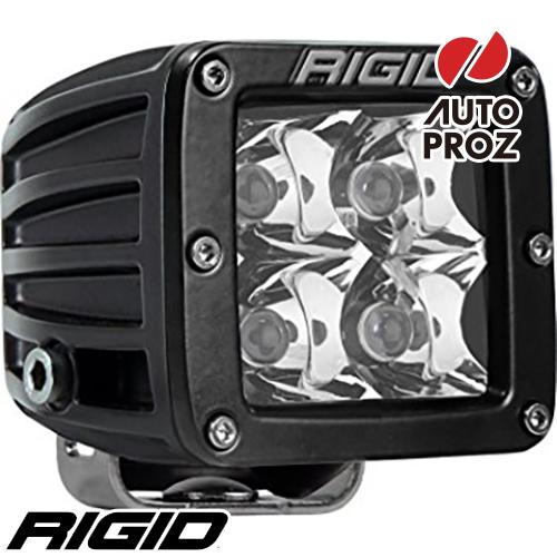 [Rigid Industries 正規品] D-シリーズ PRO LEDライト 発光パターン:スポット サーフェスマウントタイプ