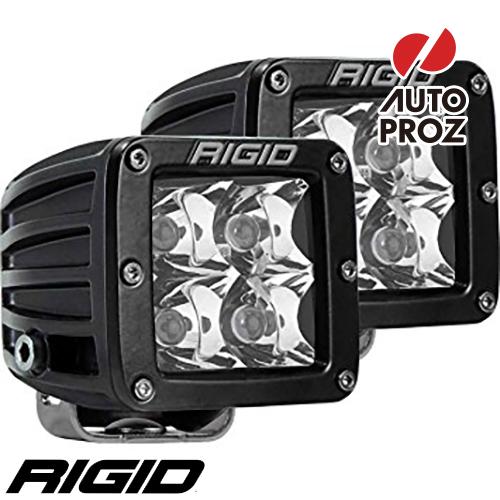 [Rigid Industries 正規品] D-シリーズ PRO LEDライト 2個セット 発光パターン:スポット サーフェスマウントタイプ