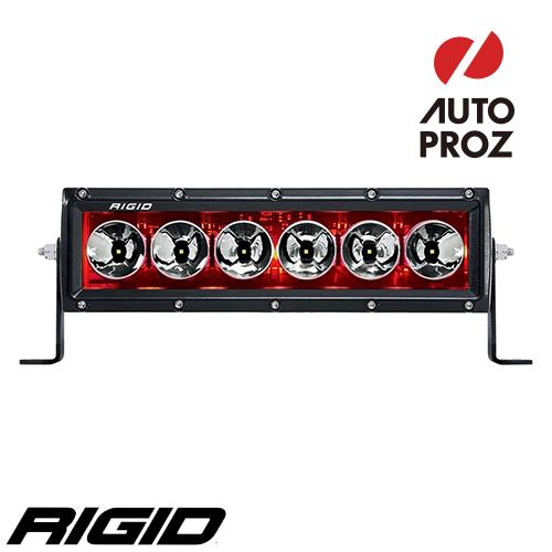 "[Rigid Industries 正規品] ラディエンス プラス 10"" LEDライト LEDカラー:レッド バックライト"