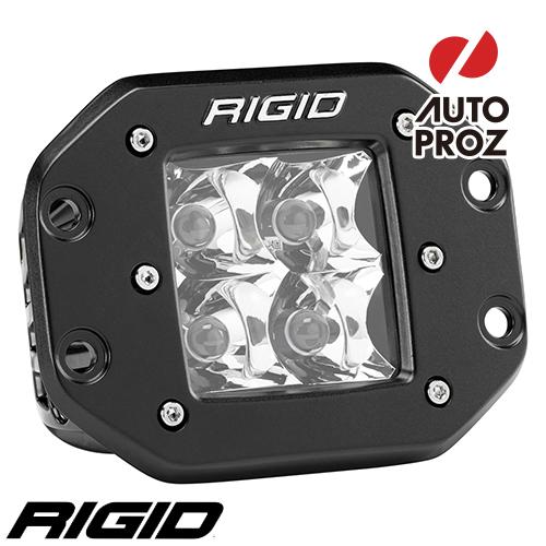 [Rigid Industries 正規品] D-シリーズ PRO LEDライト 発光パターン:スポット フラッシュマウントタイプ