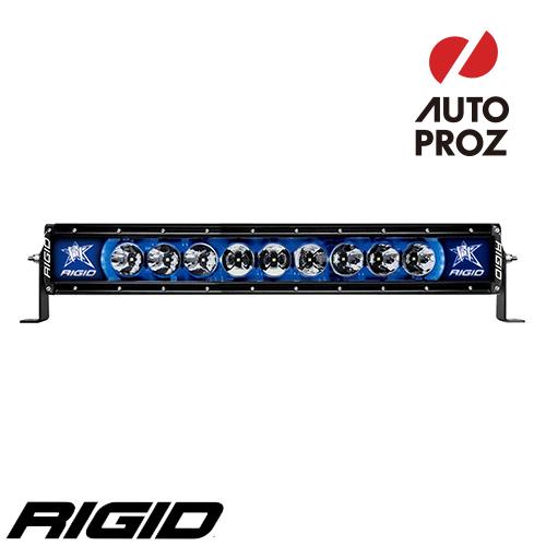 """[Rigid Industries 正規品] ラディエンス プラス 10"""" LEDライト LEDカラー:ブルー バックライト"""