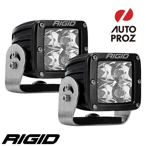 [Rigid Industries 正規品] D-シリーズ PRO HD LEDライト 2個セット 発光パターン:スポット