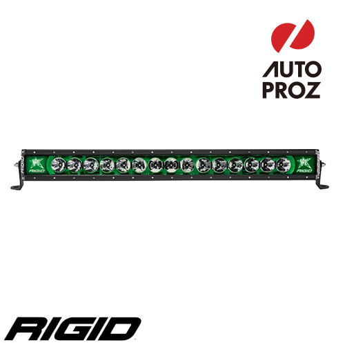 "[Rigid Industries 正規品] ラディエンス プラス 30"" LEDライト LEDカラー:グリーン バックライト"