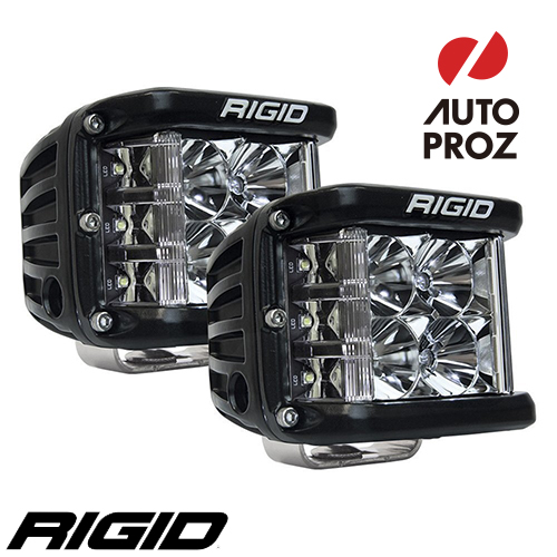 [Rigid Industries 正規品] D-SS PRO LEDライト 2個セット 発光パターン:フラッド サーフェスマウントタイプ