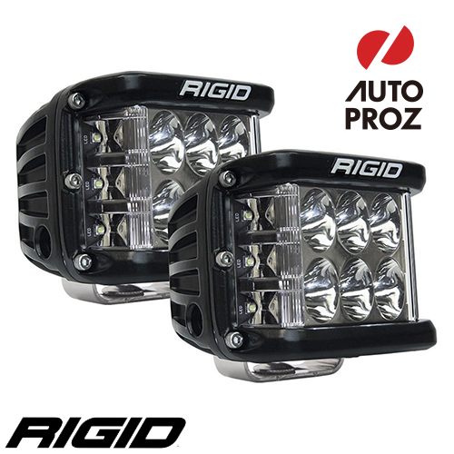 [Rigid Industries 正規品] D-SS PRO LEDライト 2個セット 発光パターン:ドライビング サーフェスマウントタイプ
