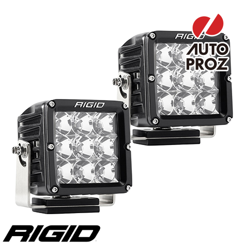 [Rigid Industries 正規品] D-XL PRO LEDライト 2個セット 発光パターン:フラッド