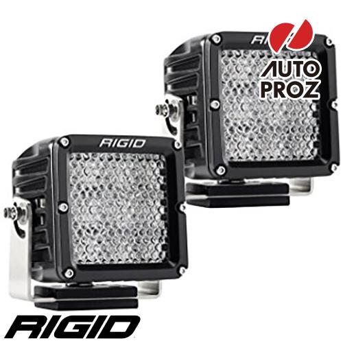 [Rigid Industries 正規品] D-XL PRO LEDライト 2個セット 発光パターン:ディフューズ
