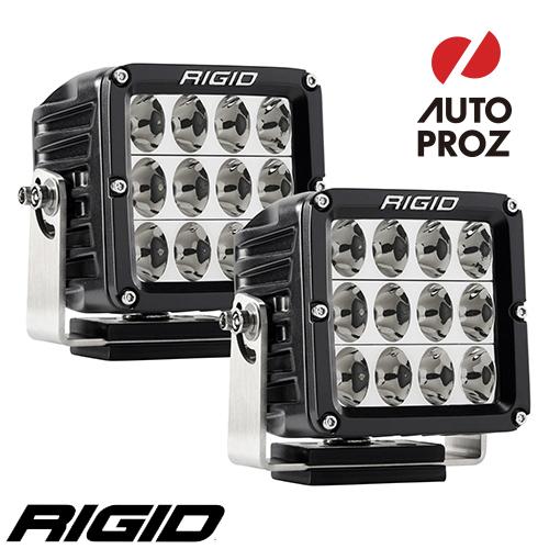 [Rigid Industries 正規品] D-XL PRO LEDライト 2個セット 発光パターン:ドライビング