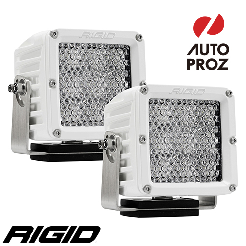 [Rigid Industries 正規品] D-XL PRO LEDライト ホワイト 2個セット 発光パターン:ディフューズ