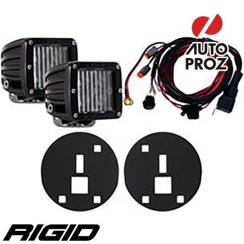 [Rigid Industries 正規品] シボレー アバランチ サバーバン 1500/2500 2007-2013年式 フォグライトキット