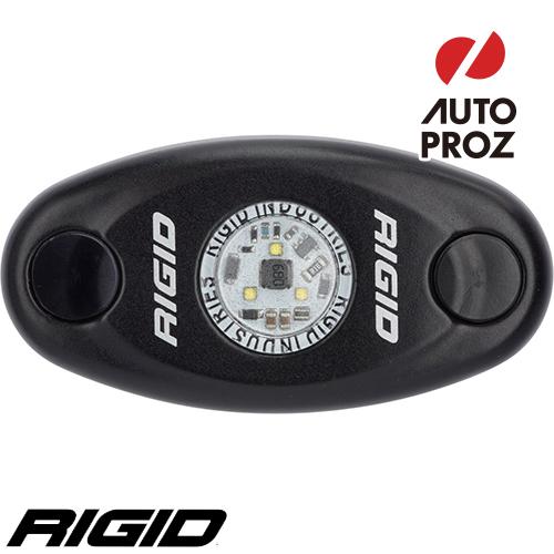 [Rigid Industries 正規品] A-シリーズ ハイパワー ブラック LEDカラー:クールホワイト