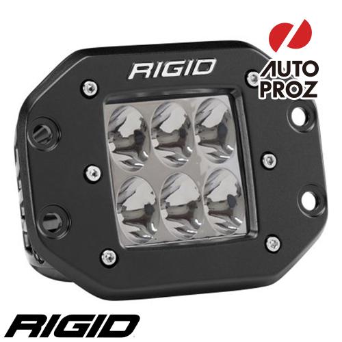 [Rigid Industries 正規品] D-シリーズ PRO LEDライト 発光パターン:ドライビング フラッシュマウントタイプ