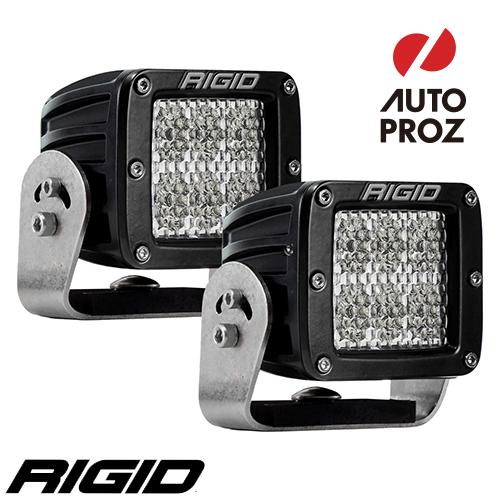 [Rigid Industries 正規品] D-シリーズ PRO HD LEDライト 2個セット 発光パターン:スペクター ディフューズ