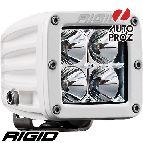 [Rigid Industries 正規品] D-シリーズ PRO LEDライト LEDカラー:ホワイト 発光パターン:フラッド サーフェスマウントタイプ