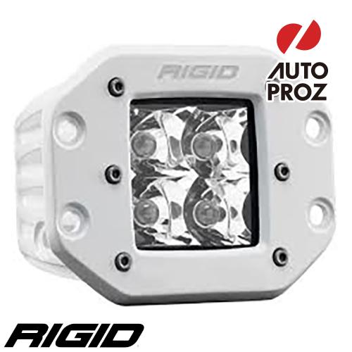 [Rigid Industries 正規品] D-シリーズ PRO LEDライト LEDカラー:ホワイト 発光パターン:スポット フラッシュマウントタイプ