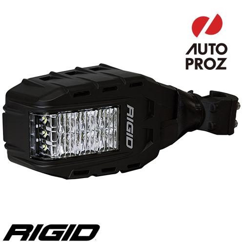 [Rigid Industries 正規品] リフレクトランプ付き サイドミラーセット2個セット