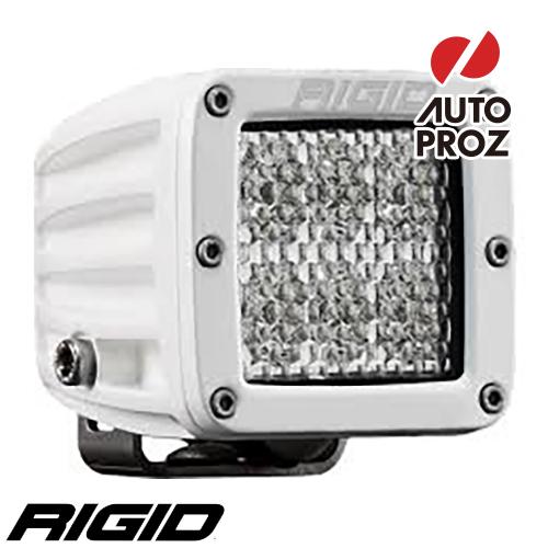 [Rigid Industries 正規品] D-シリーズ PRO LEDライト LEDカラー:ホワイト 発光パターン:スペクター ディフューズ サーフェスマウントタイプ