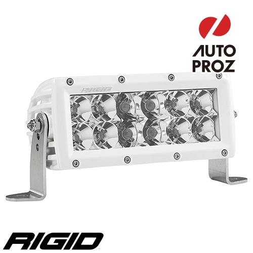 """[Rigid Industries 正規品] E-シリーズ PRO 6"""" LEDライト LEDカラー:ホワイト 発光パターン:コンボ"""