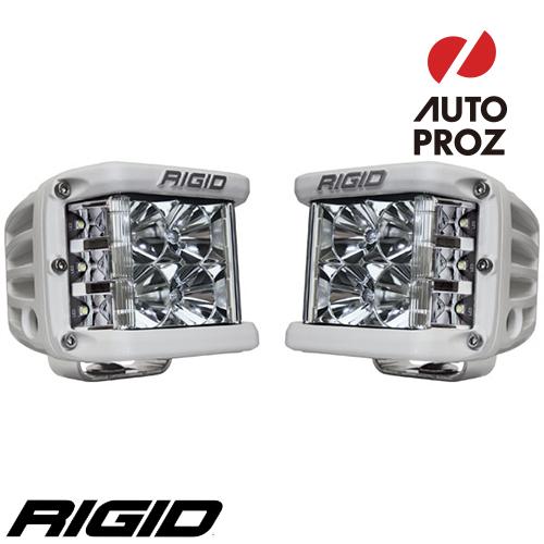 [Rigid Industries 正規品] D-SS PRO LEDライト 2個セット LEDカラー:ホワイト 発光パターン:フラッド サーフェスマウントタイプ