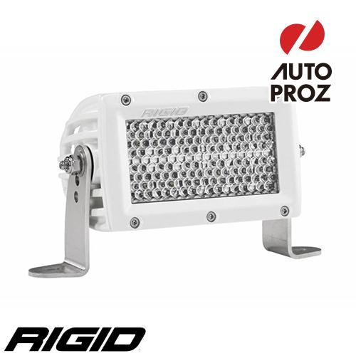"""[Rigid Industries 正規品] E-シリーズ PRO 4"""" LEDライト LEDカラー:ホワイト 発光パターン:スペクター ディフューズ"""