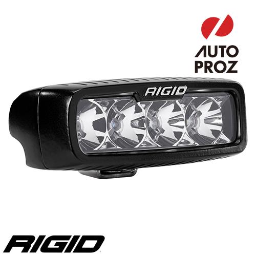 [Rigid Industries 正規品] SR-Q LEDライト LEDカラー:オレンジ 発光パターン:フラッド サーフェスマウントタイプ