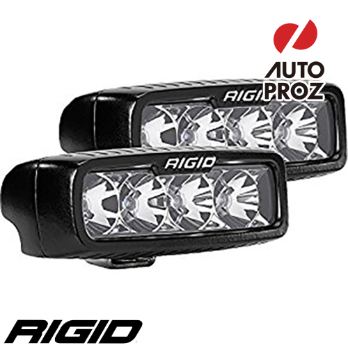 [Rigid Industries 正規品] SR-Q PRO LEDライト 2個セット 発光パターン:フラッド サーフェスマウントタイプ