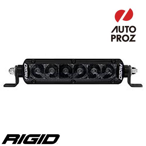 """[Rigid Industries 正規品] SR-シリーズ PRO 6"""" LEDライト 発光パターン:スポット ミッドナイト"""