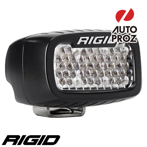 [Rigid Industries 正規品] SR-M LEDライト LEDカラー:オレンジ 発光パターン:ドライブ ディフューズ サーフェスマウントタイプ