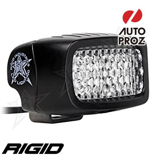 [Rigid Industries 正規品] SR-M LEDライト UV 発光パターン:ドライブ ディフューズ サーフェスマウントタイプ