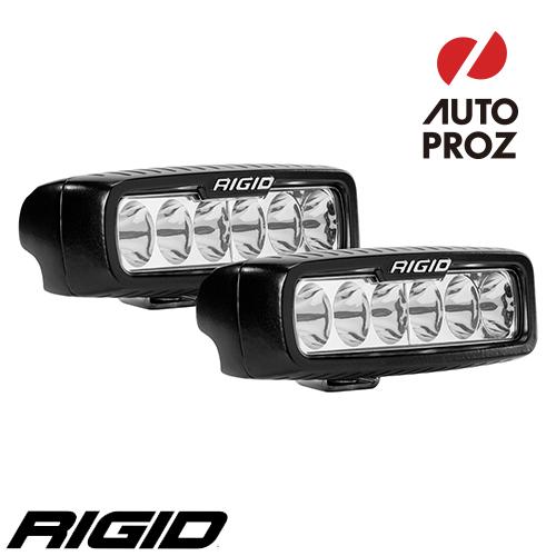 [Rigid Industries 正規品] SR-Q LEDライト 2個セット LEDカラー:オレンジ 発光パターン:ドライビング サーフェスマウントタイプ