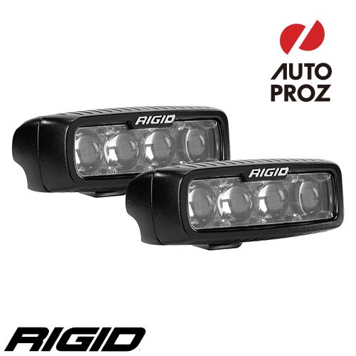 [Rigid Industries 正規品] SR-Q LEDライト 2個セット 発光パターン:ハイパースポット サーフェスマウントタイプ