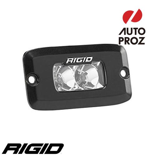 [Rigid Industries 正規品] SR-M PRO LEDライト 発光パターン:フラッド フラッシュマウントタイプ